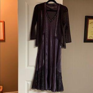 Beautiful, Komarov two piece evening dress